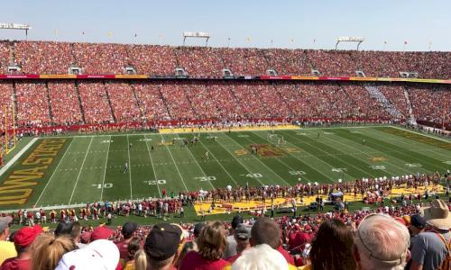 Iowa vs. Iowa State Football Outing